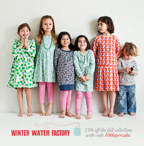 Winter Water Factory discount code | 100 Layer Cakelet