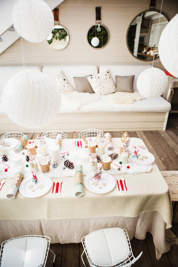 Fire & Creme Kids winter white Swedish Christmas party | Love Bucket Photo | 100 Layer Cakelet