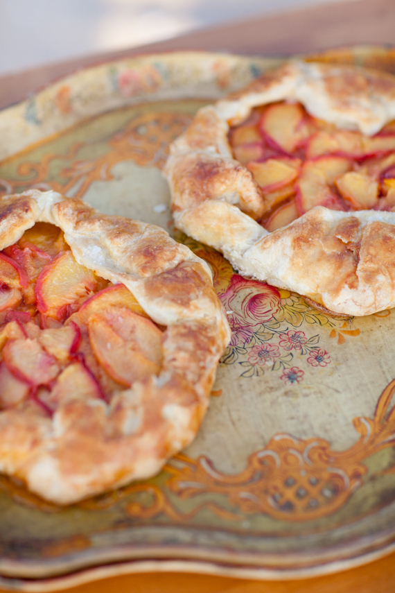 Peach tart | photo by Scott Clark Photo | 100 Layer Cakelet