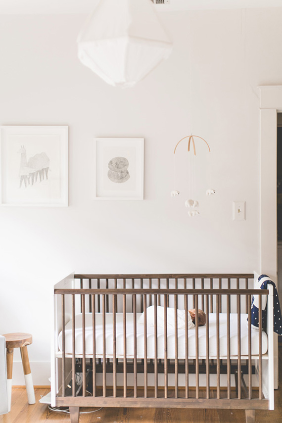 modern nursery layout white and grey nursery oeuf rhea crib