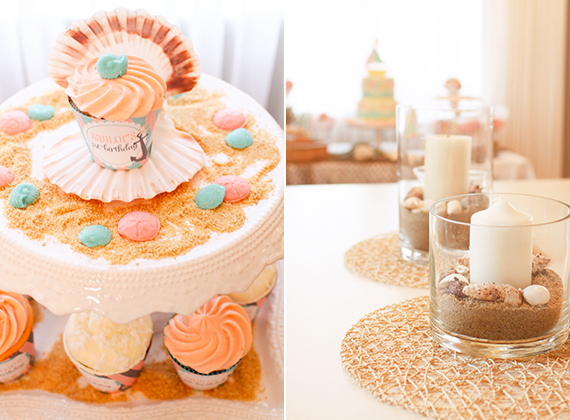 Saylor's nautical themed 1st birthday | Mimi & Taylor | 100 Layer Cakelet