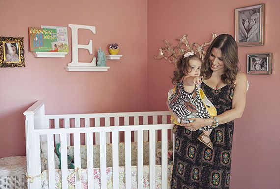 Cozy girl's nursery | Kristina Lee Photography | 100 Layer Cakelet