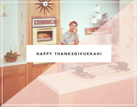Happy Thanksgivukkah | 100 Layer Cakelet