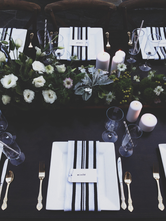 Black & White baby shower by Mindy Gayer | 100 Layer Cakelet