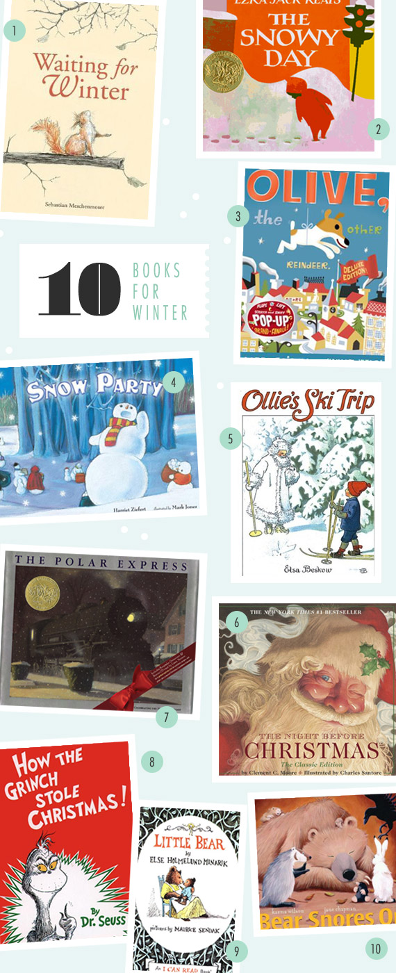 Favorite books for Winter | 100 Layer Cakelet