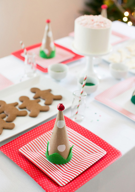 Holiday cookie decorating birthday party | photo by Scott Clark Photo | 100 Layer Cakelet