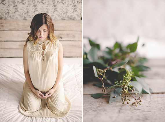 Wintery maternity photos from Destiny Dawn | 100 Layer Cakelet