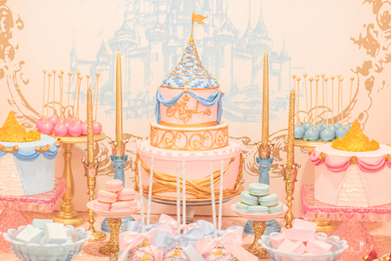 The ultimate Princess party from Minted and Vintage | Sienna Rose Photography | 100 Layer Cakelet