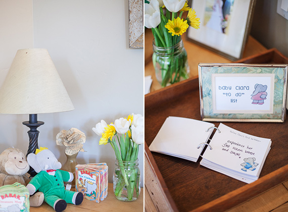 Babar baby shower | Buena Lane Photography | 100 Layer Cakelet