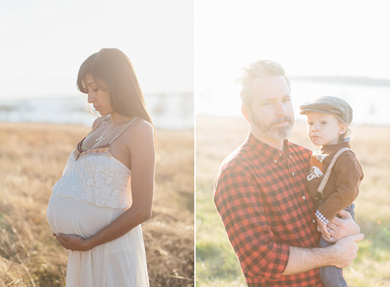 Winter family photos in Dallas by Heather Hawkins | 100 Layer Cakelet