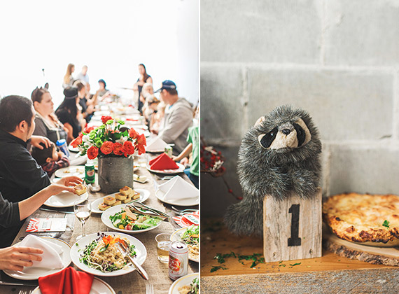 Fantastic Mr. Fox first birthday | The Paper Suite | 100 Layer Cakelet