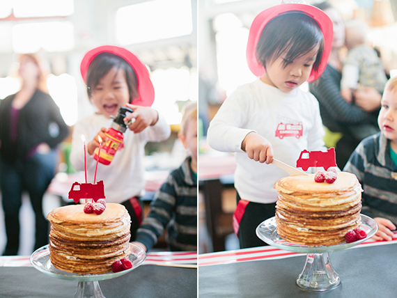 Firefighter 3rd birthday | Caroline Tran | 100 Layer Cakelet