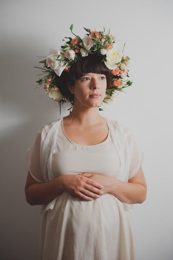 Flower crown maternity photos by Jayme Anne  a67e00870eb