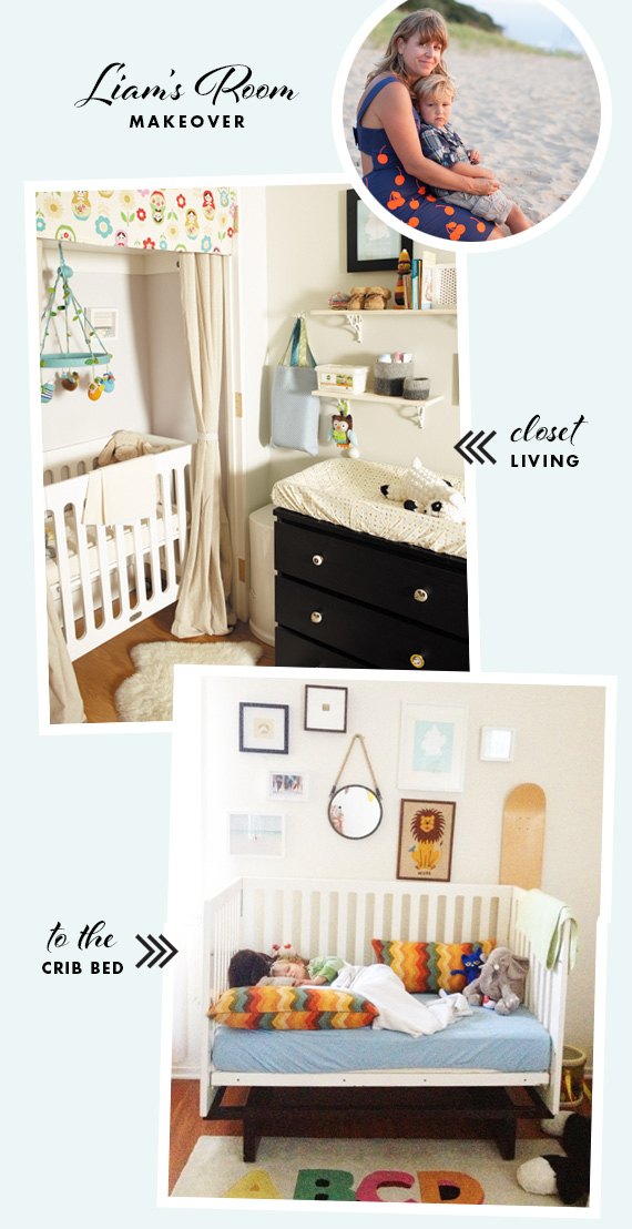Toddler room makeover | http://www.100layercakelet.com/?p=19883