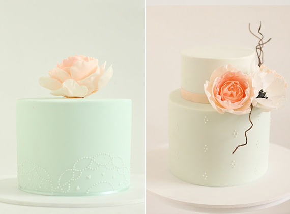 Peony cakes by Hello Naomi | 100 Layer Cakelet