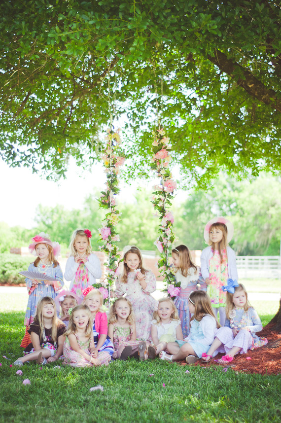 Spring tea party birthday | Caroline Maxcy | 100 Layer Cakelet