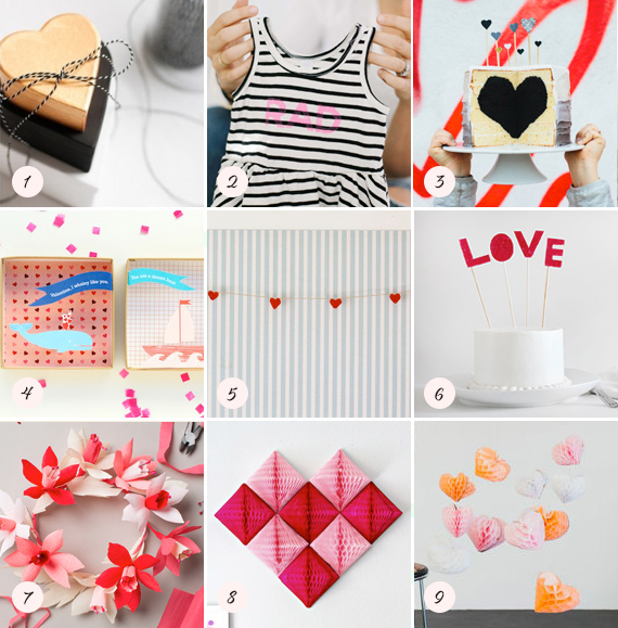 valentines day DIY projects | 100 Layer Cakelet