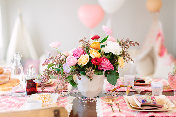 Valentine's Day party for kids from Beijos Events | Meg Perotti | 100 Layer Cakelet