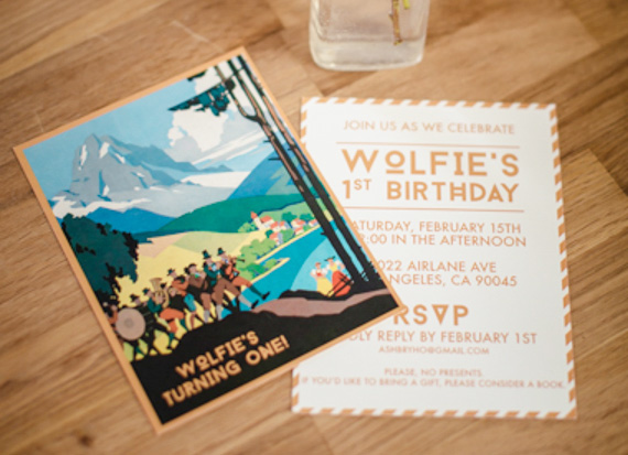 Wolfie's Austrian 1st birthday by Mein Schatz Events | The Long Haul Photo | 100 Layer Cakelet