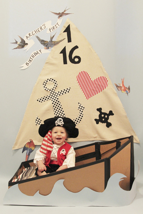 Pirate themed birthday party ideas | 100 Layer Cakelet