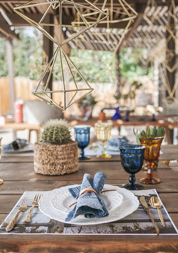 Bohemian boy's shower by Beijos Events | 100 Layer Cakelet