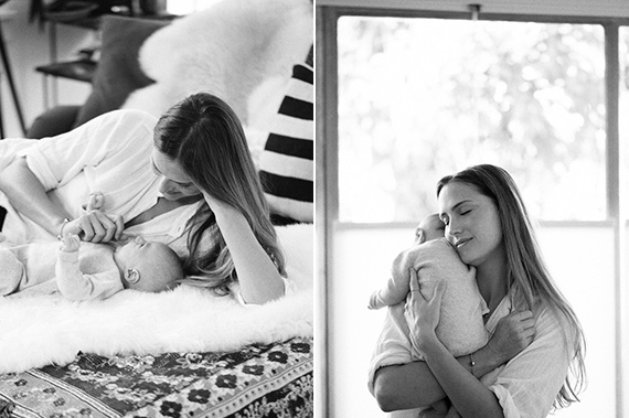 Los Angeles newborn photos at home by Erin Hearts Court | 100 Layer Cakelet
