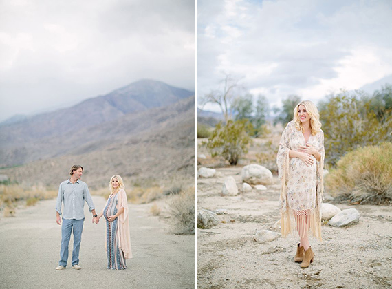 Desert maternity photos by Joielala Photography | 100 Layer Cakelet