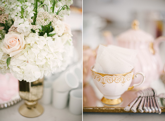 Pink and gold Sip n' See party for Penny | Melissa Baum Events | 100 Layer Cakelet