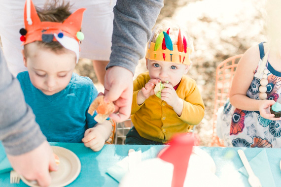 Summer camp 1st birthday by Jessica Claire | 100 Layer Cakelet