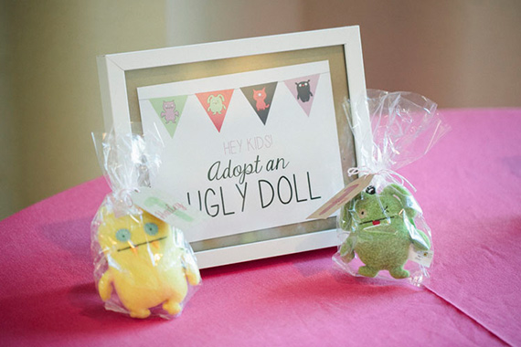Ugly Doll 1st birthday by Skybox Events | 100 Layer Cakelet