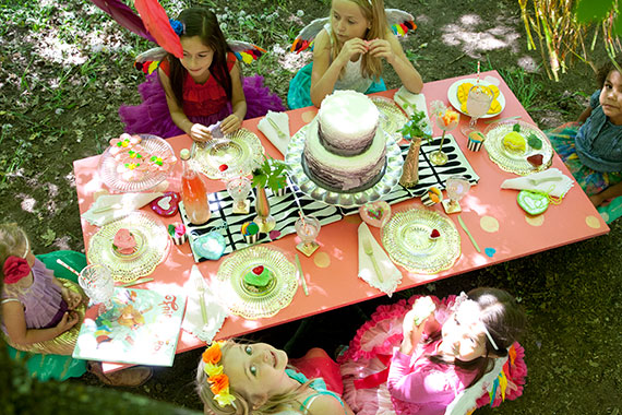 Fairy Birds party | 100 Layer Cakelet