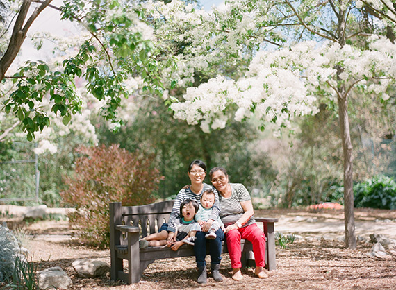 Spring family outing by Christine Choi | 100 Layer Cakelet