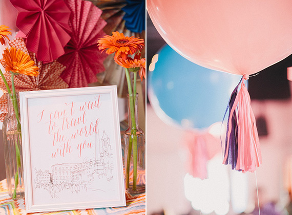 Travel-themed baby shower by Mood Events | Blaine Siesser | 100 Layer Cakelet