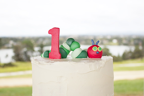 Very Hungry Caterpillar 1st Birthday | All The Frillz | 100 Layer Cakelet