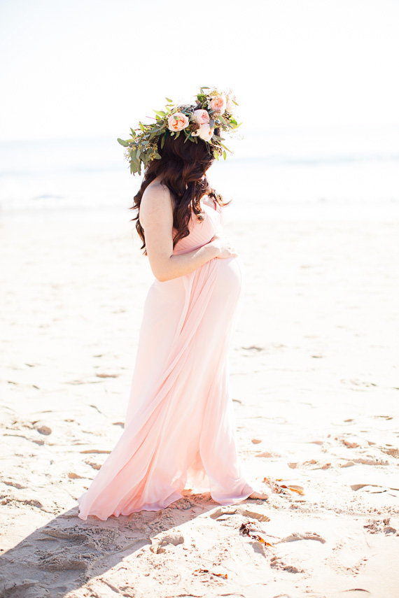 Southern California beach maternity photos by Chris and Kristen Photography | 100 Layer Cakelet
