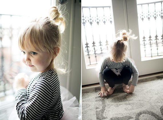 Portrait of a 3 year old by Brooke Fitts | 100 Layer Cakelet
