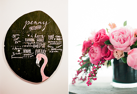 Flamingo 1st birthday party for Penny | Sherri Koop Photography | 100 Layer Cakelet