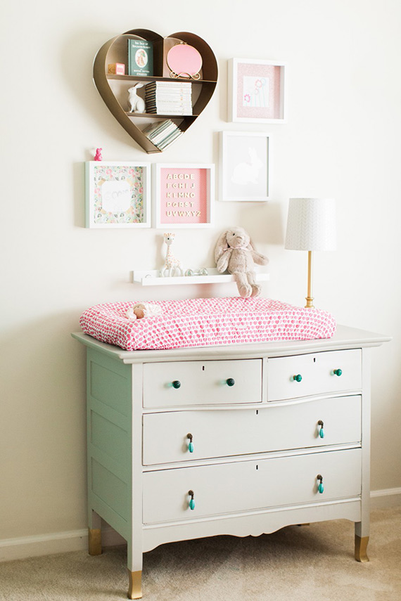 Beatrix Potter girls nursery | Haley Sheffield Photography | 100 Layer Cakelet