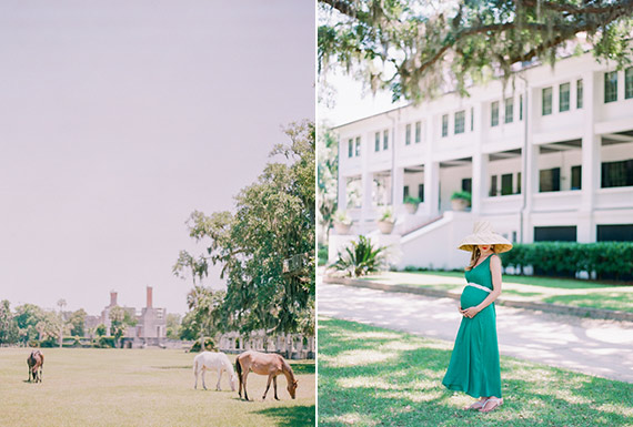 Georgia plantation maternity photos by Jennifer Blair photography | 100 Layer Cakelet