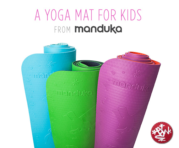 Manduka yoga mat for kids giveaway | 100 Layer Cakelet