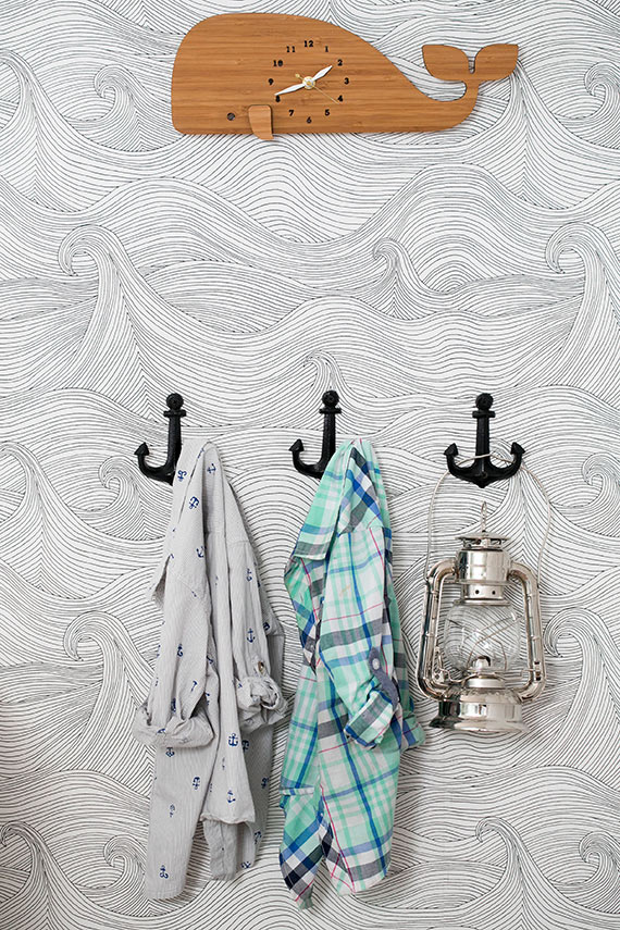 Nautical Themed Bedroom Decor: Liam's Nautical Surf-themed Bedroom