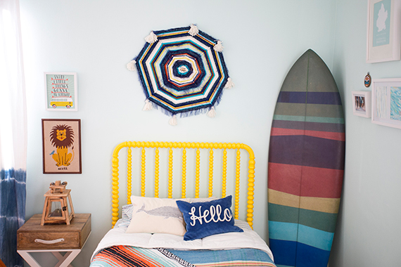 Nautical Surf Themed Bedroom | Photo By Scott Clark Photo | 100 Layer  Cakelet