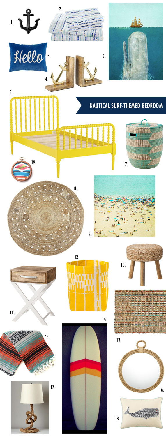 Nautical Surf room ideas | 100 Layer Cakelet