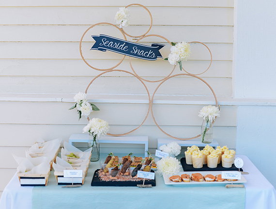 Nautical 7th birthday by Honeycomb Events | Cari Courtright Photography | 100 Layer Cakelet