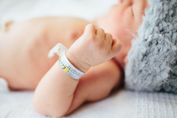 Hospital newborn photos in Orange County | Megan Hartley | 100 Layer Cakelet