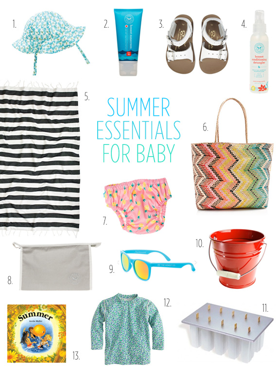 Summer essentials for baby | The Honest Company promo code | 100 Layer Cakelet