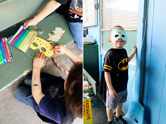 Super Hero 4th birthday in Berkeley | Good On Paper Design | 100 Layer Cakelet