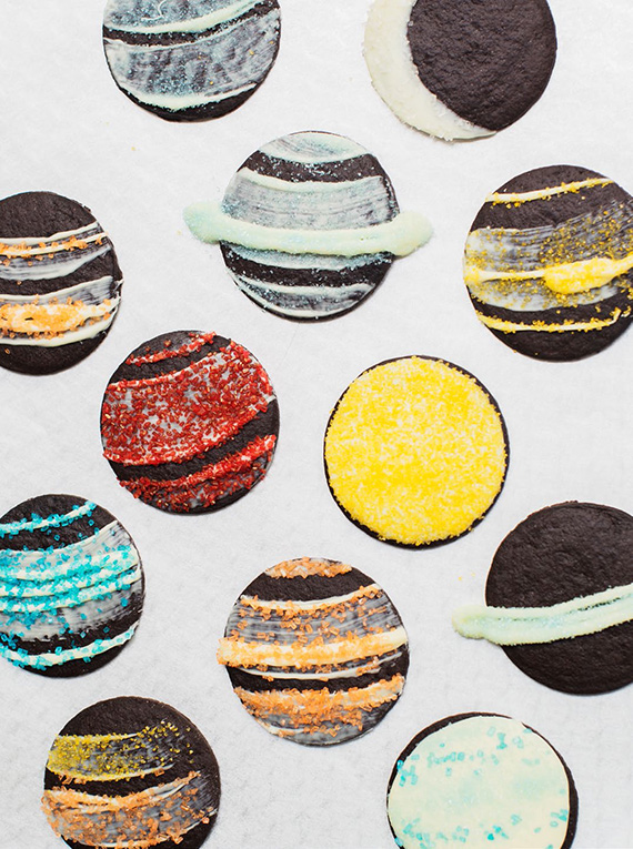 DIY planet cookie idea | 100 Layer Cakelet