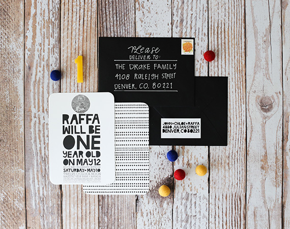 Colorful first birthday for Raffa | 100 Layer Cakelet