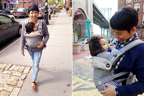Family trip to New York with the Ergobaby 360 | 100 Layer Cakelet